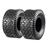 MaxAuto 2 Pcs Lawn Mower Tire 18X8.50-8 18x8.5x8 P512 4 Ply Tubeless Turf Tire