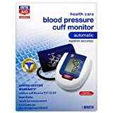 Rite Aid Automatic Blood Pressure Cuff | Digital Blood Pressure Monitor