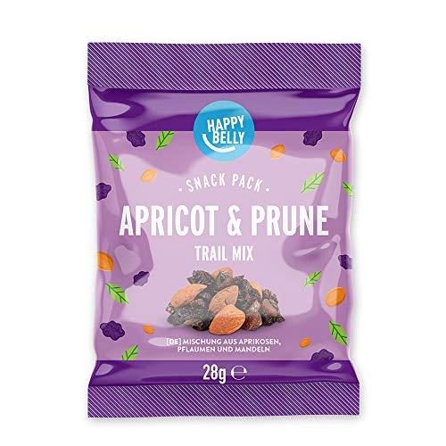 Marchio Amazon - Happy Belly Mix di Albicocche e Prugne Essiccate, Confezione da 20 x 28g