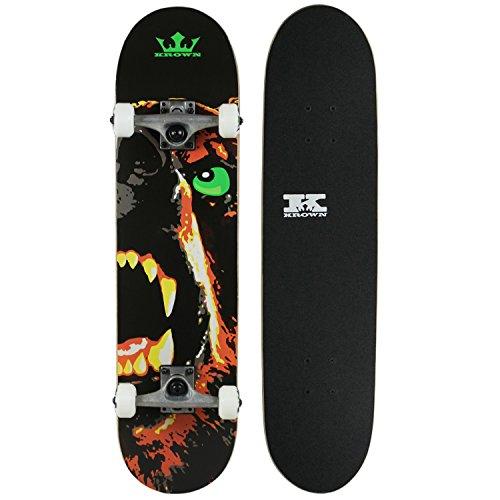 Krown KRRC-70 Rookie Skateboard, Bear