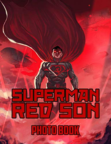 Superman Red Son Photo Book: Superman Red Son Collection Adult Photo & Image Books