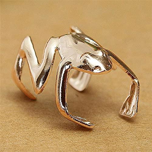 EQCETPF Women's Earrings - 1Pcs Frog Shape Retro Charm Ear Wrap Fine Jewelry Girl Fashion Bohemian Style Personality Lady Party Wedding Birthday Drop Accessories Lover Gift