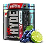 ProSupps® Mr. Hyde® NitroX Pre-Workout Powder Energy Drink - Intense Sustained Energy, Pumps & Focus with Beta Alanine, Creatine & Nitrosigine, (30 Servings, Purple Lime Rickey)…