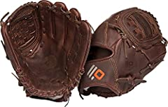 "12"" Fastpitch Infield/Pitcher Glove Stampede Leather: Full grain, full oil, performance steerhide that creates a ready-for-play glove Closed Back Closed Web"