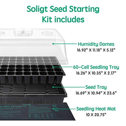 Two Set 90-Cell Seed Starter Kit