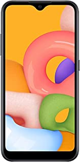 Samsung Galaxy A01 Dual SIM 16GB 2GB RAM 4G LTE (UAE Version) - Black - 1 year local brand warranty