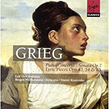 Grieg: Piano Concerto - Sonata Op. 7, Lyric Pieces Opp. 43, 54 & 65