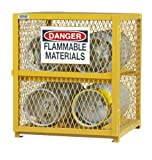 Durham Steel/Iron Horizontal Cylinder Storage Cabinet, EGCC4-50, 4...