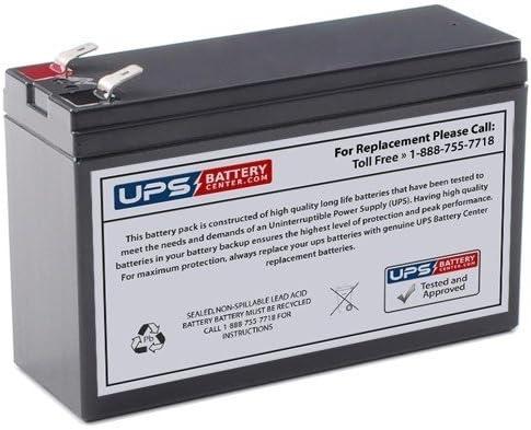 Financial sales sale UPSBatteryCenter 12V 6Ah +F2 -F1 Ranking TOP9 CP1260SC Vision Compatible Ba -