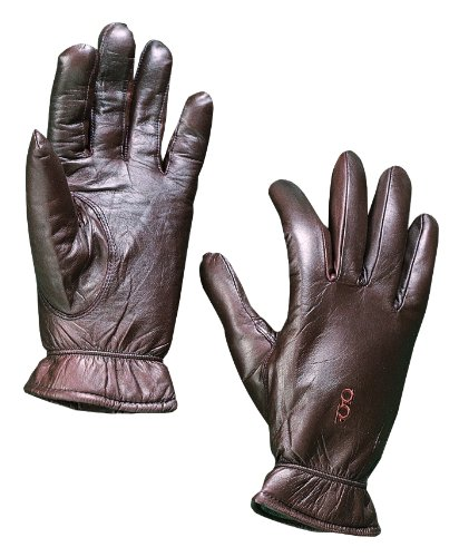 Bob Allen Leather Insulated Gloves (Brown, Large)