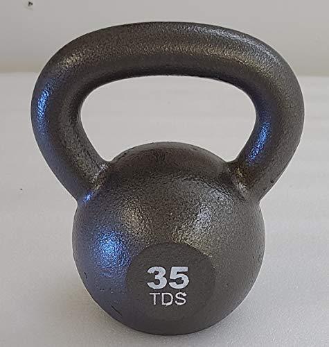 TDS High Grade Cast Iron Kettlebell-35lb.