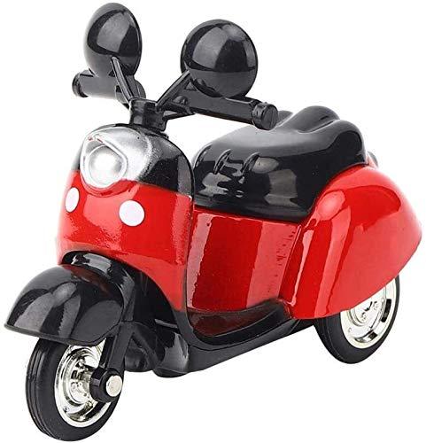 yvyuan Motocicleta de simulación Alta, Mujer de aleación Modelo Modelo de Moto Tratar VEHÍCULOS DE Juguete para NIÑO