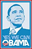Barack Obama (Blue Yes We Can) Campaign Poster Movie Poster