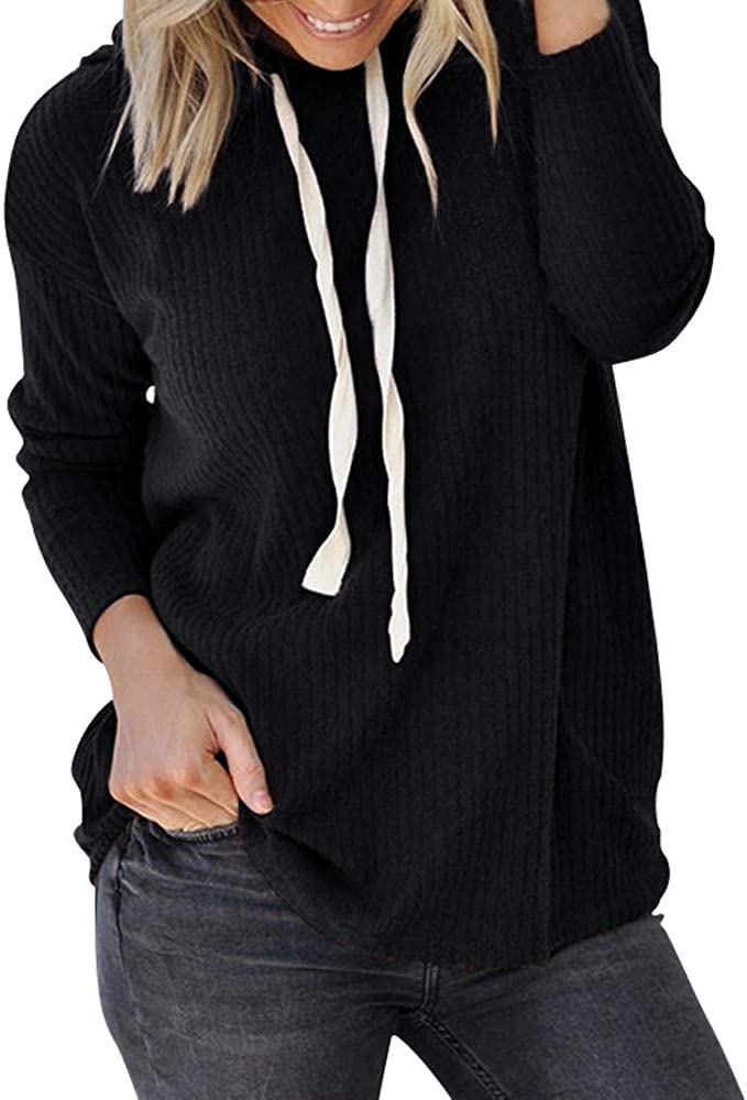 Eduavar Hoodies for Women Teen Girls Cropped Hoodie Sweatshirt Long Sleeve Lace up Crop Top Sports Coat Pullover Tops
