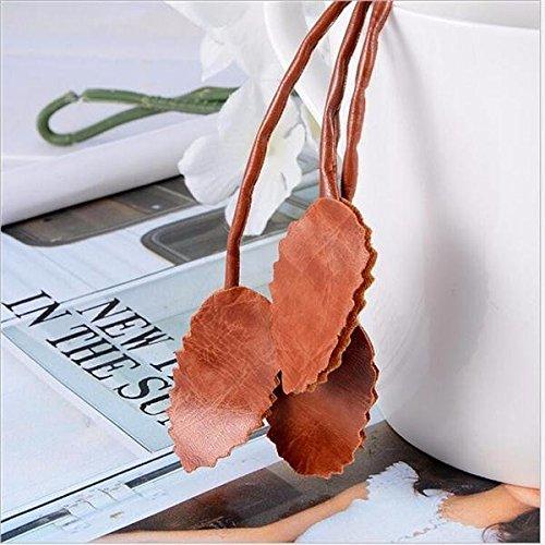 feel Lijas de Banda Nuevas Hojas de Cinturones Tejidos para Mujeres de Punto Pasajes Pasajes Borros de tasel Cadena de Cintura para Mujer lijadora de Banda para Acero (Color : Khaki)