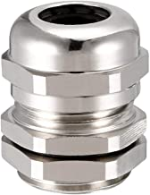 ZealMax M18 Cable Glándula Conector de metal a prueba de agua Cable Glándulas Juntas para 5mm-10mm Dia Gama