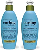 Organix Moroccan Curling Perfection Defining Cream 6 oz (Pack of 2)