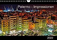 Palermo - Impressionen (Wandkalender 2022 DIN A4 quer): Impressionen Palermos, der brodelnden Hauptstadt der Autonomen Region Siziliens. (Monatskalender, 14 Seiten )