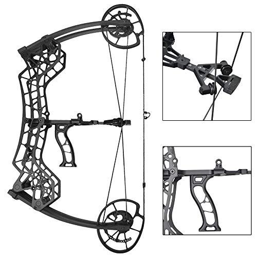 ZSHJG Bogenschießen Compoundbogen Set Jagdbogen 30-60lbs Einstellbar Sportbogen Dual-Zweck Stahl Ball Erwachsene Compound Bögen für Jagd Angeln