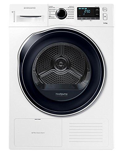 Samsung - Secadora (Independiente, Carga frontal, Bomba de calor, Blanco, Botones, Giratorio, Derecho)