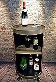 Livitat Regal Beistelltisch Ölfass Tonne H80cm Industrie Look Loft Vintage LV5055 (Rost)