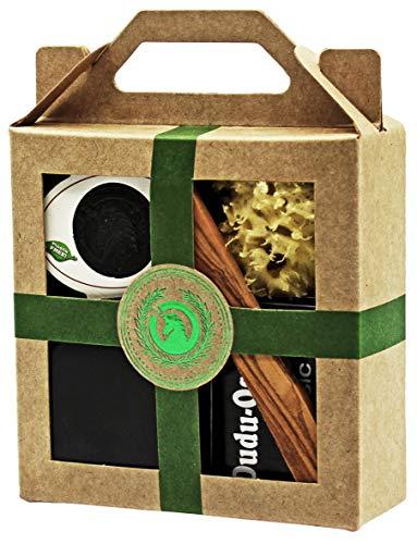 Licorne Dudu Osun® Classic Dudu Shea® Pure Coffret cadeau mini boîte à savon Vert