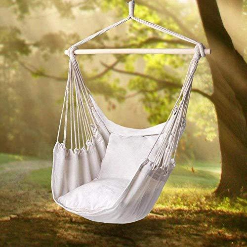 QingShunBeiJing Garden Hangstoel Draagbare Reizen Camping Opknoping Hangmat Swing Stoel Hangmatten Sedia per amaca + 2 cuscini Tipo 1