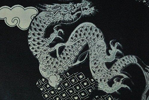 『[武蔵野ユニフォーム]【サムライ足袋 ユニセックス 黒龍】 柄足袋 《091-kokuryuu》 (22.0)』のトップ画像