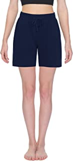 TAIBID Active Yoga Lounge Shorts Fitness Activewear Workout Joggers Shorts with Pockets, Size S - XL