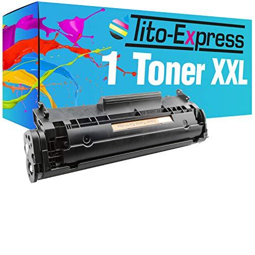 Tito-Express ProSerie 1 Tóner XXL compatible con HP Q2612A con 3.500 páginas Laserjet 1010 1012 1015 1018 1020 1022 1022 N 1022 NW 3015 3015 AIO 3020 3020 AIO 30 3030 AIO 3050 3050 Z 3052 3055.