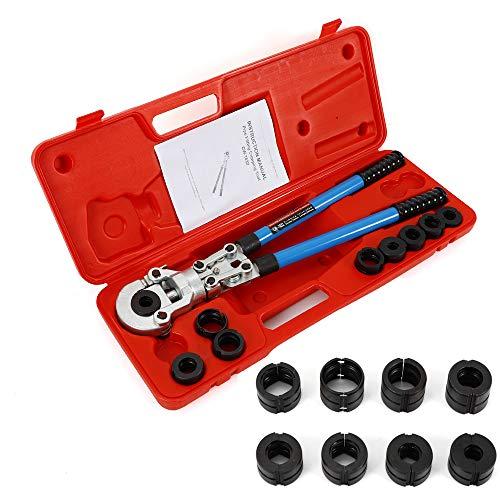 Presszange TH 16-32MM & V 12-28MM Kontur Rohrpresszange Pressbacken für Kupferrohr Verbundrohr