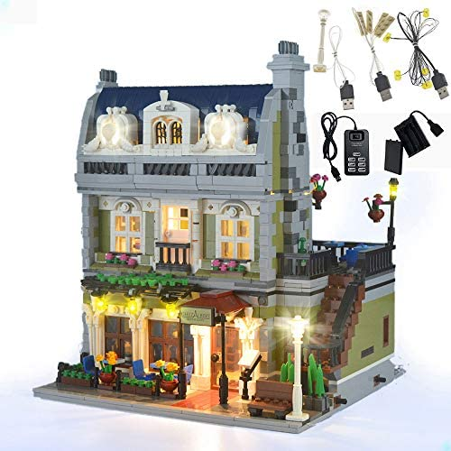 GEAMENT LED Light Kit for Creator Expert Parisian Restaurant Compatible with Lego 10243 Building product image