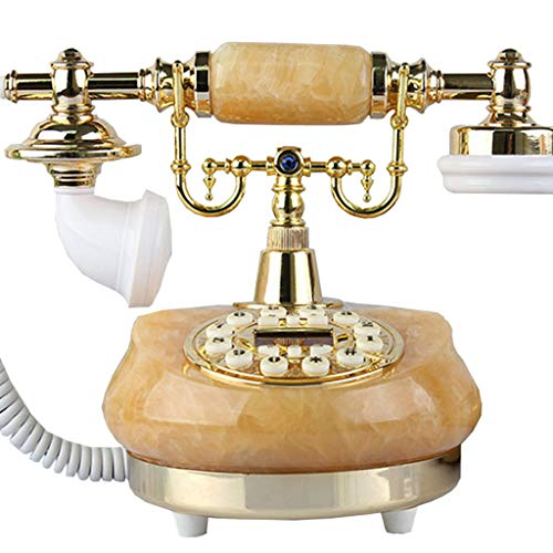 ZARTPMO Vintage Handset Teléfono Fijo Teléfono Antiguo con Cable Teléfono Fijo Retro para el hogar