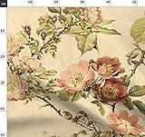 Wasserfarben, Botanisch, Blumen, Englisch, Viktorianisch,