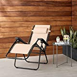 AmazonBasics Outdoor Zero Gravity Lounge...