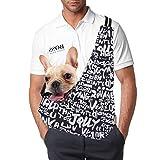 Pet Dog Sling Carriers for Small Dogs & Cat, Adjustable Shoulder Strap Dog