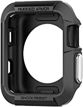 MARKET AFFAIRS 42mm Soft Skin-Friendly King's Armor TPU Band Shock Absorber for Apple iWatch (Black)