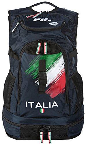 Arena Fastpack 2.1 Fin Italia, Sacca Unisex Adulto, Navy, Taglia Unica