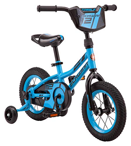 Schwinn Hopscotch & Toggle Quick Build Kids Bike, 12-16-Inch Wheels, Smart Start Steel Frame, Easy Tool-Free Assembly, Multiple Colors