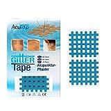 AcuTop Typ C, Gitter Tape, Blau - 40 Tapes, Akupunktur Pflaster, Gitterpflaster