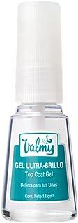 Valmy Gel Top Coat Ultra-Brillo – Tratamiento de Efecto Cristal para Uñas 1 Unidad (1 x 14 ml)
