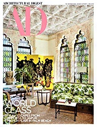 Architectural Digest Magazine - May, 2018