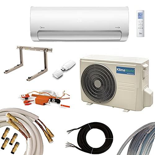 Climatizzazione Invertitore Klimaworld Facile Quick System 5,3kW Set Premium