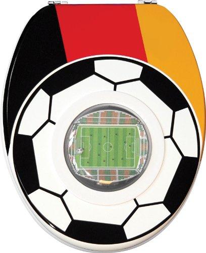 SANWOOD WC-Sitz Motiv: Stadion TOILETTENDECKEL KLODECKEL KLOBRILLE WC Deckel TOILETTENSITZ WC Brille