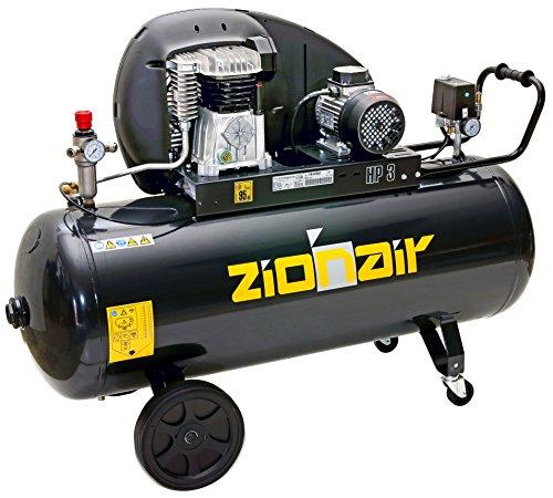 Pro-Lift-Gereedschappen compressor 2,2 kW luchtcompressor 10 bar 400 V afgegeven hoeveelheid 320 l/min werkplaatscompressor persluchtketel 200 l