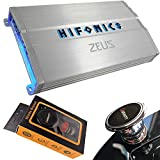 Hifonics ZG-1200.4 Zeus Gamma 1200 Watts 4-Channel Full Range Bridgeable Audio Amplifier Class A/B Amp for Car & Vehicles with Gravity Magnet Phone Holder Bundle