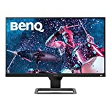 BenQ EW2780 - Monitor de 27' FullHD (1920x1080, 5ms, 75Hz, 3x HDMI, IPS, HDRi, FreeSync, Altavoces, Eye-care, Sensor Brillo Inteligente, Flicker-free, antireflejos, sin marco, VESA) - Gris