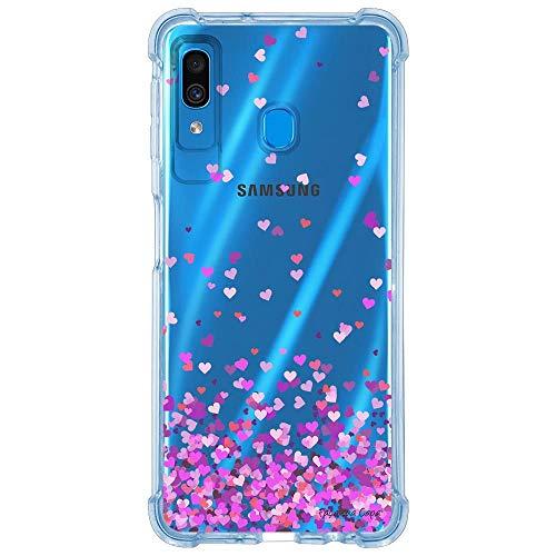 Capa Personalizada Samsung Galaxy A30 A305 - Corações - TP167