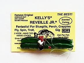 Reveille, Jr. Propeller Kelly's Bass Worms Catalpa - 6 Count
