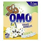 OMO Waschmittel Pulver flieder weiß und Ylang Ylang 50Dosen